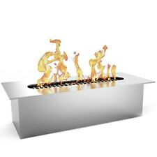 "Bio Ethanol Fireplace Firepit Burner .5 Liters In/Outdoor Heater 8"" Regal Flame"
