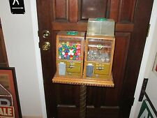 OLD VICTOR BABY GRAND GUMBALL CHARM CANDY MACHINES AND STAND