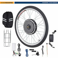 "26"" 48V 1000W Front Wheel Electric Bicycle Motor Conversion Kit eBike Bike Hub"