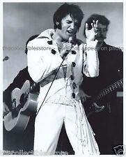 ELVIS AARON ARON PRESLEY GRACELAND KING OF ROCK & ROLL CONCERT 8 X 10 PHOTO #01