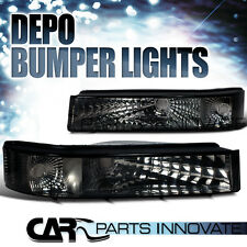 Ford 92-96 F250 F350 Bronco Bumper Lights Signal Lamp Tinted DEPO