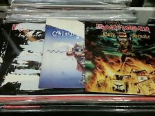 IRON MAIDEN holy smoke ..Can i play with madness..infinite dreams..7'  vinyls