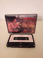 Vintage Cassetta Giochi Commodore 64/128 - Rambo II - CBM Software