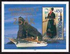 Faroe Islands Mnh 1997 Sg320 Silver Jubilee