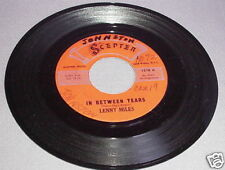 NORTHERN SOUL 45RPM RECORD-LENNY MILES-SCEPTER 1218