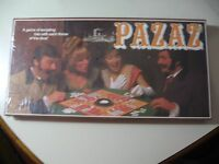 Pazaz, (1978) Vintage board game, Brand New & Sealed