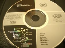 Cadillac Navigation Disc - 2001-04 - Midwest USA