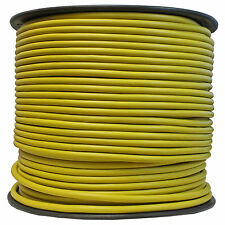 Shielded BULK MIC CABLE PRO AUDIO snake XLR microphone wire 500 ft reel YELLOW
