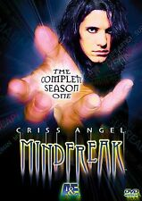 MindFreak: Complete TV Season 1/One (DVD Boxset New) *Criss Angel* FS