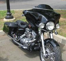"""USA Made 4"""" Harley Davidson  Black Lancer Windshield for 1986-95 Dresser Touring"""