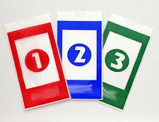 210 Reusable Safe Drop Envelopes (70ea) Red, Blue, Green  for Tidel Tacc II RA