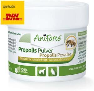 AniForte Propolis Pulver für Hunde  Katzen 20g - Natürliche Unterstützung Immu
