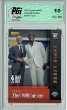 Zion Williamson 2019 Panini Instant #DN-ZW 1st Rookie Card Ever 17k Made PGI 10