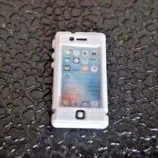 RC 1/10 Scale White Cell Phone Cellular Apple Iphone Rock Crawler Doll Accessory