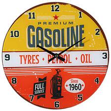 Vintage/Retro Glass Analogue Wall Clocks