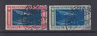COLONIE CIRENAICA 1933 CROCIERA BALBO 2 VALORI USATI