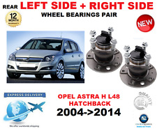 FOR OPEL ASTRA H REAR WHEEL BEARING L48 LEFT + RIGHT HAND SIDE SET 2004->2014