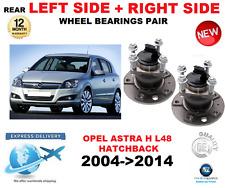 pour Opel Astra H ROULEMENT DE ROUE ARRIÈRE L48 GAUCHE + Côté DROIT Set 2004- >