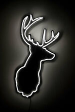 "New Stag Deer Beer Pub Bar Lamp Neon Light Sign 24""x20"""