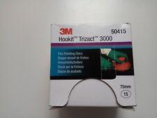 Discos lija 3M Hookit Trizact 3000 75mm. Ref 3m 50415