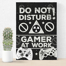 Gaming Boys Bedroom Door Sign Birthday Christmas Gift for Gamer Son Brother Dad