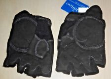 Clarino Ringers gloves 1/2 finger size 10 Black palm padding Tags