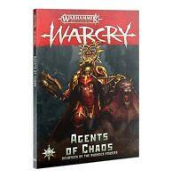 Agents of Chaos Book Warcry Warhammer AOS Age of Sigmar NEW