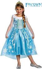 Elsa Costume Small 4/6x Girls Frozen Elsa Costume DELUXE Disney Frozen NEW