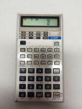 Calculadora Científica Casio FX-3600P Vintage Retro De Plata