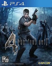 New Sony PS4 Games  Resident Evil 4 Biohazard 4 HK Version English Subtitle