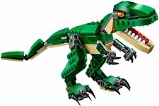 LEGO 31058 Creator 3-in-1 Mighty Dinosaurs Set T-Rex Triceratops and Pterodactyl