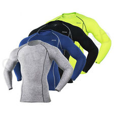 Mens Long Sleeved Cycle Jersey Road Mountain Bike Bicycle Quick-dry Shirt Tights
