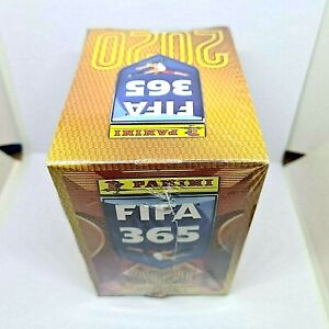 Panini FIFA 365 2019-2020 box 50 pack stickers rookie Haland,Greenwood