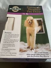 PetSafe Extreme Weather Pet Door White Large PPA00-10986 New In Box