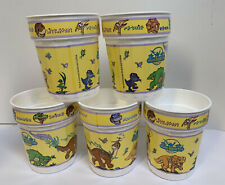 Land Before Time Vintage Plastic Cup Set 5 The Original Graffi Cups G1a