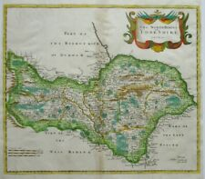 Antique map of the North Riding of Yorkshire by Robert Morden 1695