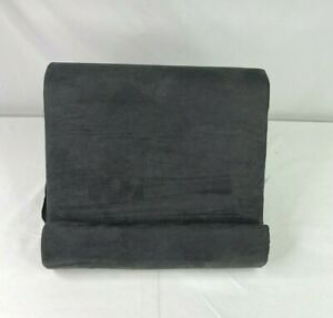 """Ontel Pillow Pad Multi-Angle Soft Tablet Stand 11.75"""" x 9.5"""" x 9"""" Charcoal Grey"""