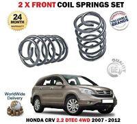 Pour Honda Crv 2.2 CDTI Dtec 4WD Re 2007-2012 Neuf 2 X Avant Ressort Jeu de