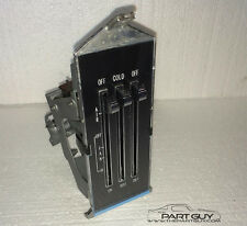 RECOND 71-74 Nova HEATER CONTROL w/WHITE LETTERING Heat Controls Apollo 356199