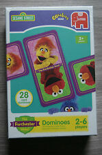 SESAME STREET THE FURCHESTER HOTEL DOMINOES SET BRAND NEW AGE 3+ YEARS JUMBO