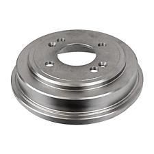 Pair 2x Brake Drums Rear 180mm ADG04719 Blue Print Set 5841107000 Quality New