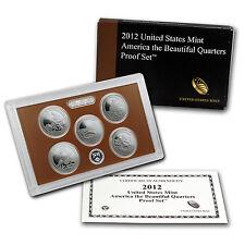 2012 America the Beautiful Quarters Proof Set - SKU #84294