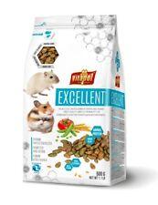 VITAPOL Excellent 2-er Set Komplettfutter für Hamster und Rennmäuse 500g zvp5110