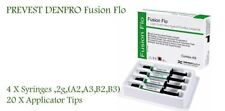 PREVEST DENPRO FUSION FLO LightCure Nano Flowable Composite KIT  4 X 2gm