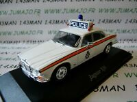 PUK7 voiture 1/43 CORGI ATLAS POLICE CARS : JAGUAR XJ6 west Yorkshire