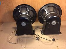 """Pair of Vintage Jensen 12"""" Electro-Dynamic Concert Speakers A-12 Woofers Tested"""