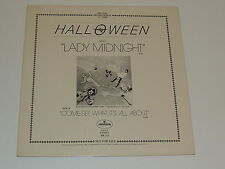 """HALLOWEEN lady midnight / come see what it's all about 12"""" RECORD PROMO DISCO 79"""