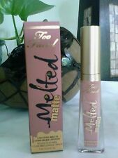 TOO FACED Melted Matte Liquified Lipstick Child Star- matte soft nude BNIB 0.4oz