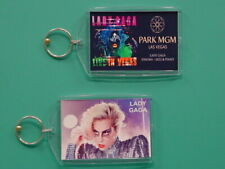 LADY GAGA - Las Vegas - with 2 Photos - Designer Collectible GIFT Keychain 08