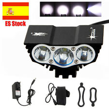 Solarstorm 15000Lm 3 x XML U2 LED Linterna Luz BICICLETA 4-Mode FOCO Cabeza